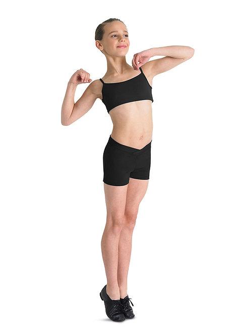 Bloch Girls V-Waist Shorts CR2704