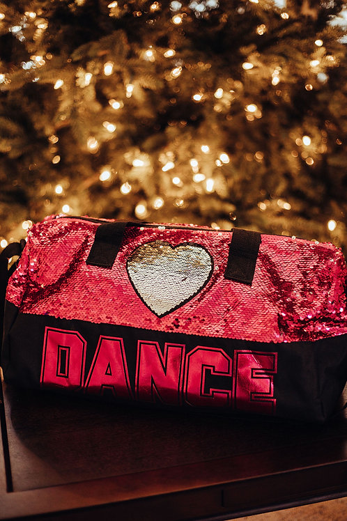 Danshuz Sequin Dance Heart B842