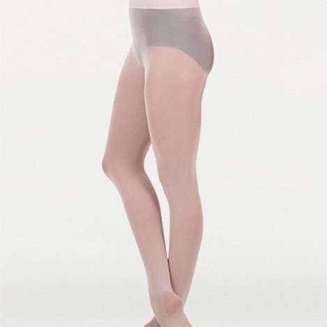 Body Wrappers Wide Smooth Waist Tights A41