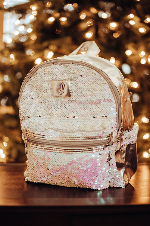 Danshuz Pearlescent Backpack B835