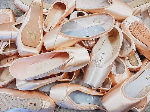Pointe Shoe Virtual Evaluation Fee