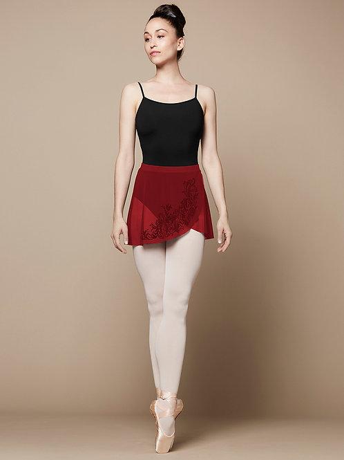 Bloch Ladies Lenore Flock Wrap Skirt R9811