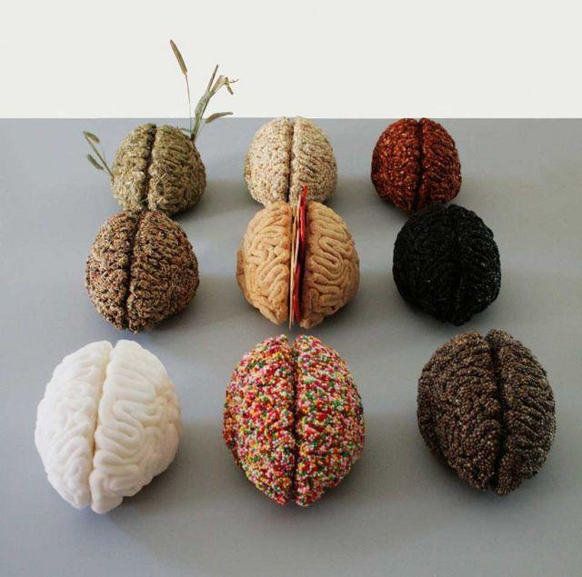 你吃過五顏六色的大腦嗎?