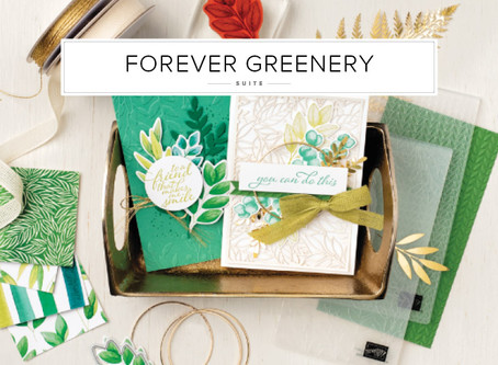 Gorgeous New Forever Greenery Suite Project