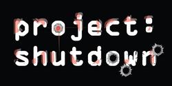 project shutdown logo