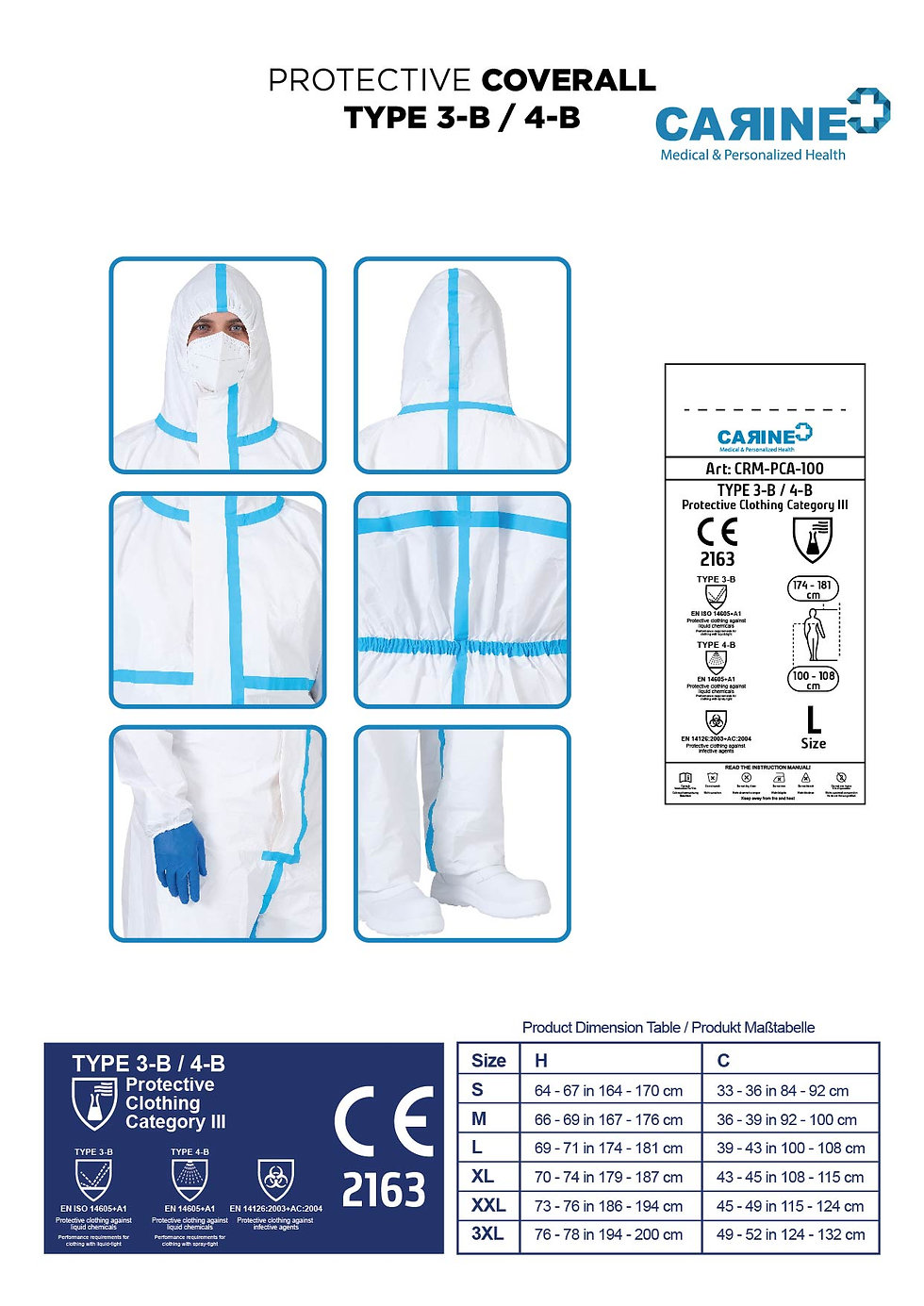 DISPOSABLE-PROTECTIVE-COVERALL-TYPE-3-B-