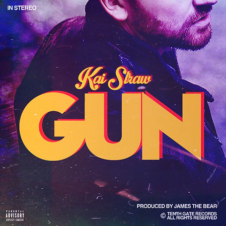 Kai Straw - Gun - Album Cover - M.jpg