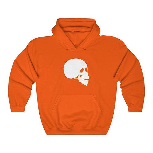 The Skull - Hoodie [White Logo]