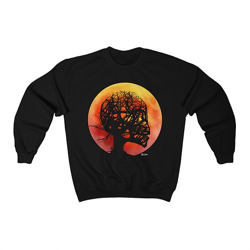 Bleeding Out in the 415 - Crewneck Sweater [Dark]