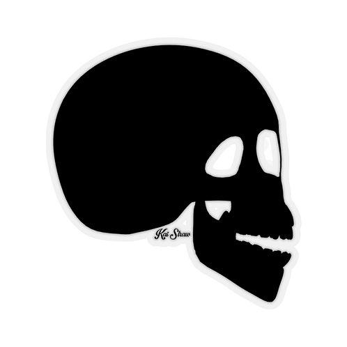 The Skull - Black Sticker