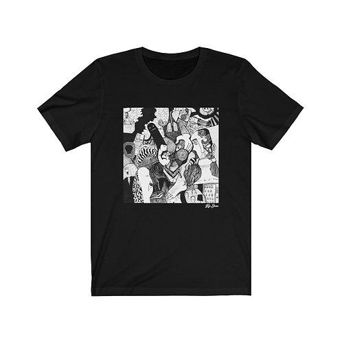 The Tragedian's Decoupage - Men's T-Shirt