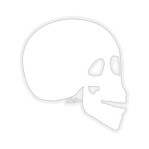 The Skull - White Sticker