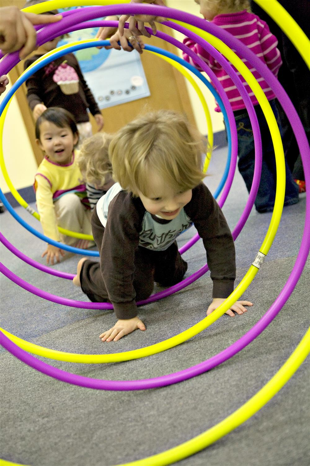 Making Tunnels with our Hoops