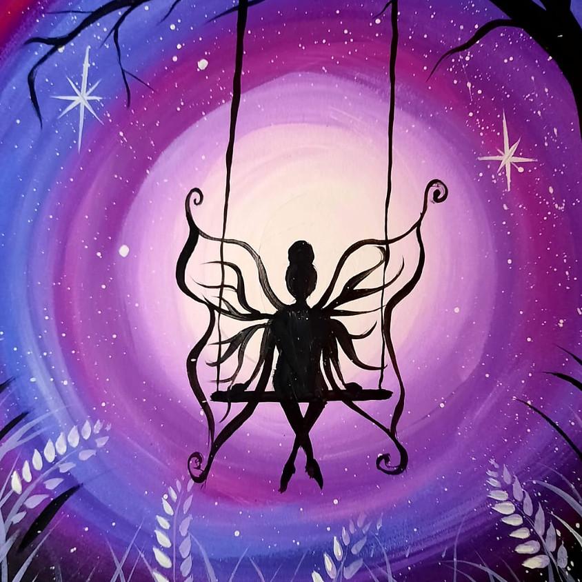 Facebook Paint Along - The Fairy