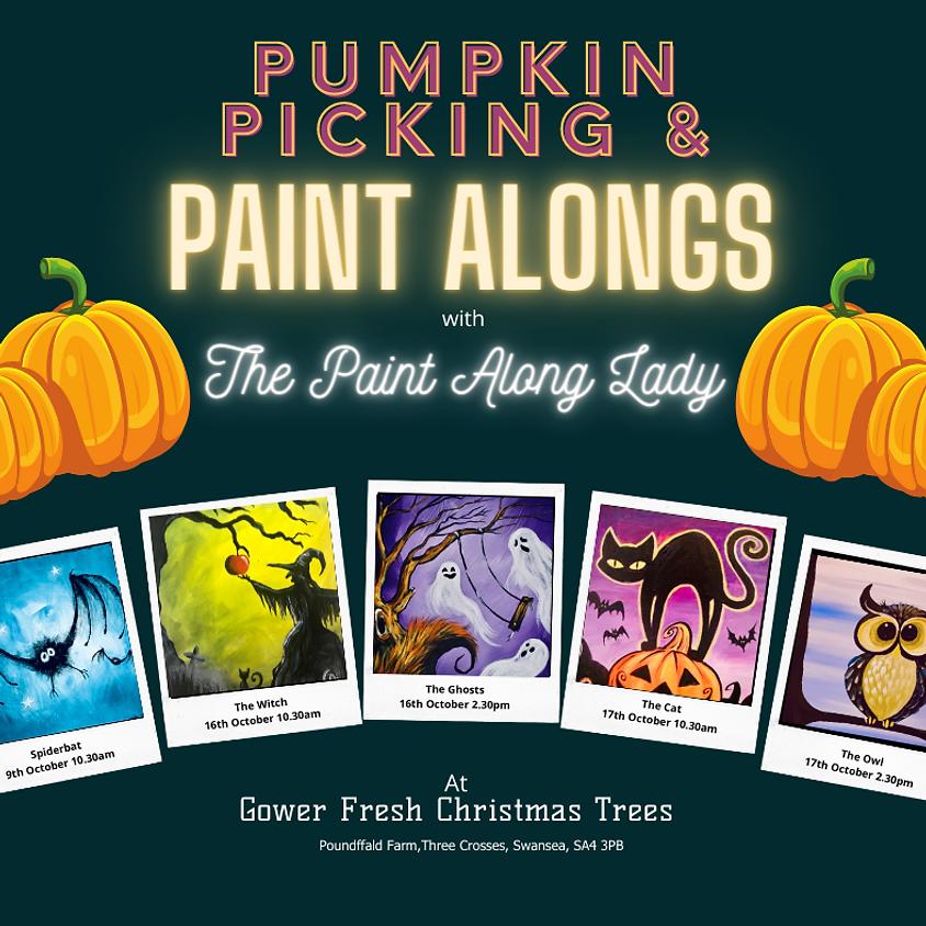 Halloween Family Paint Alongs - Gower Fresh Christmas Trees