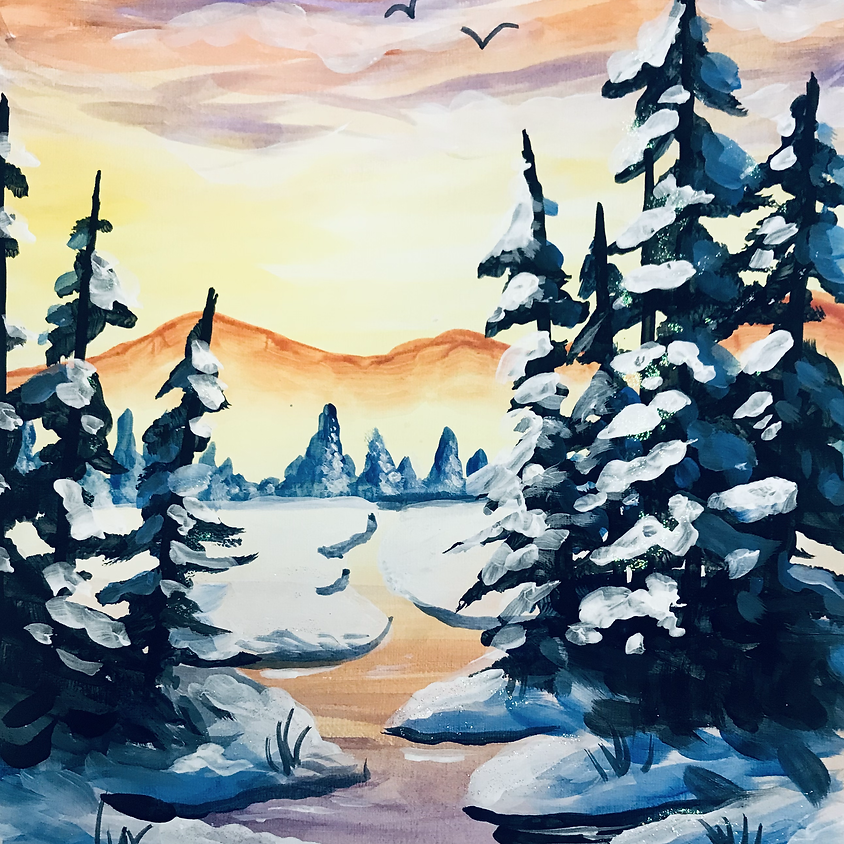 Pre-recorded Paint Along - The River