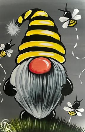 Bee Happy Gnome