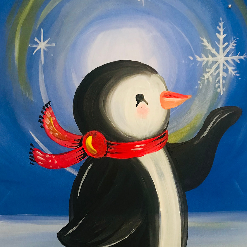 Pre-recorded Paint Along - The Penguin