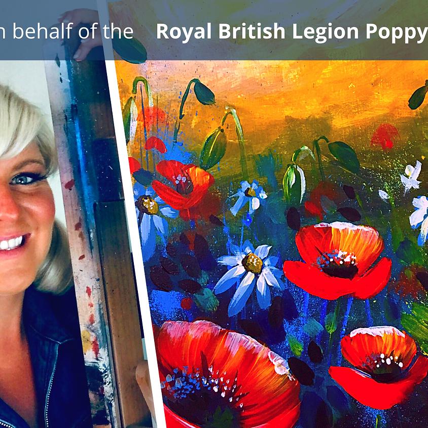 Poppy Paint-Along
