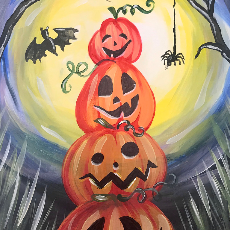 Pre-recorded Paint Along - Pumpkin Playtime