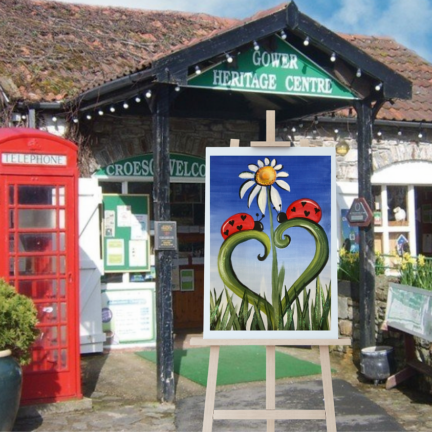 Children's Paint Along - Gower Heritage Centre - The Love Bugs