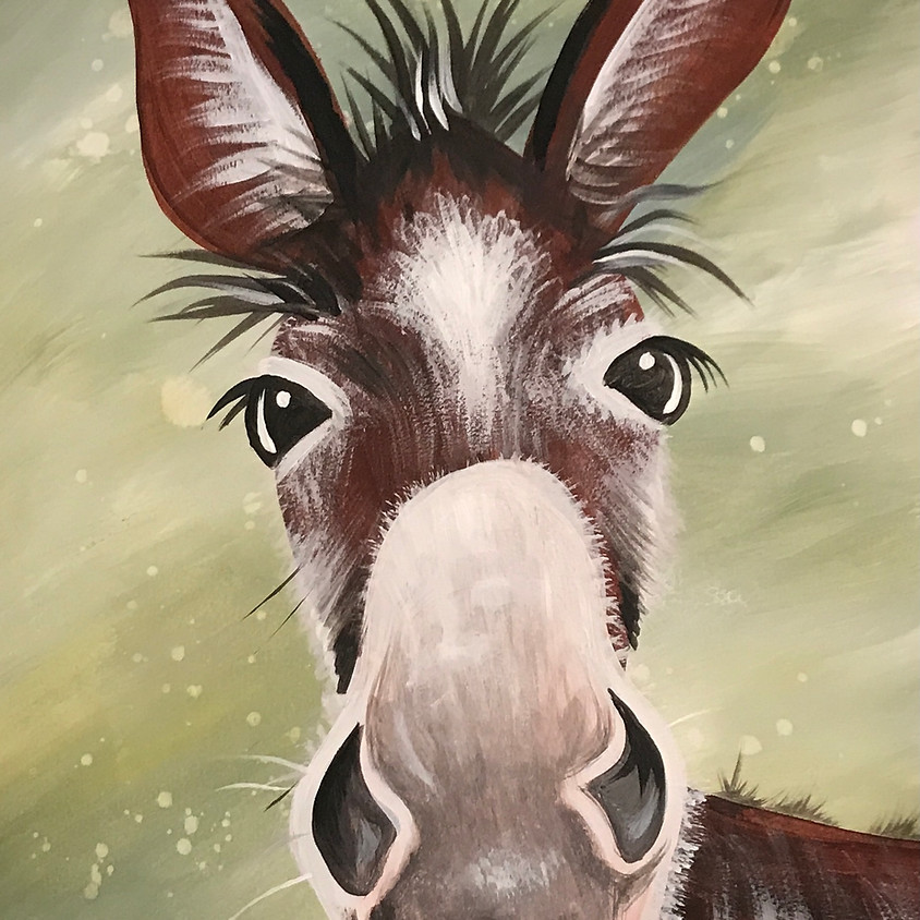 Pre-recorded Paint Along - Donkey (AVAILABLE 25th March)