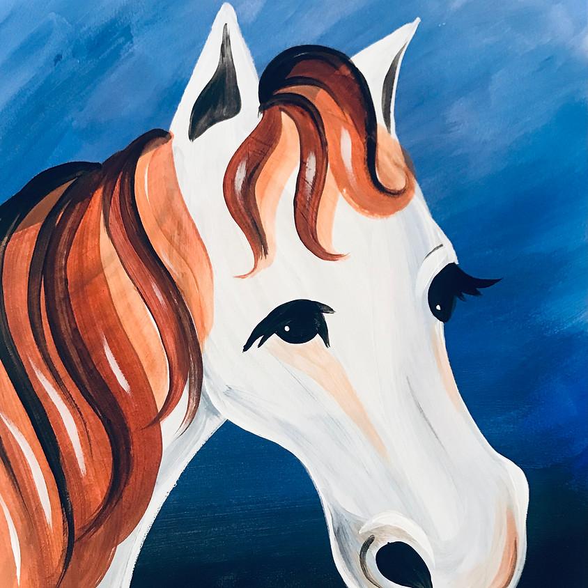 Facebook Paint Along - The Horse