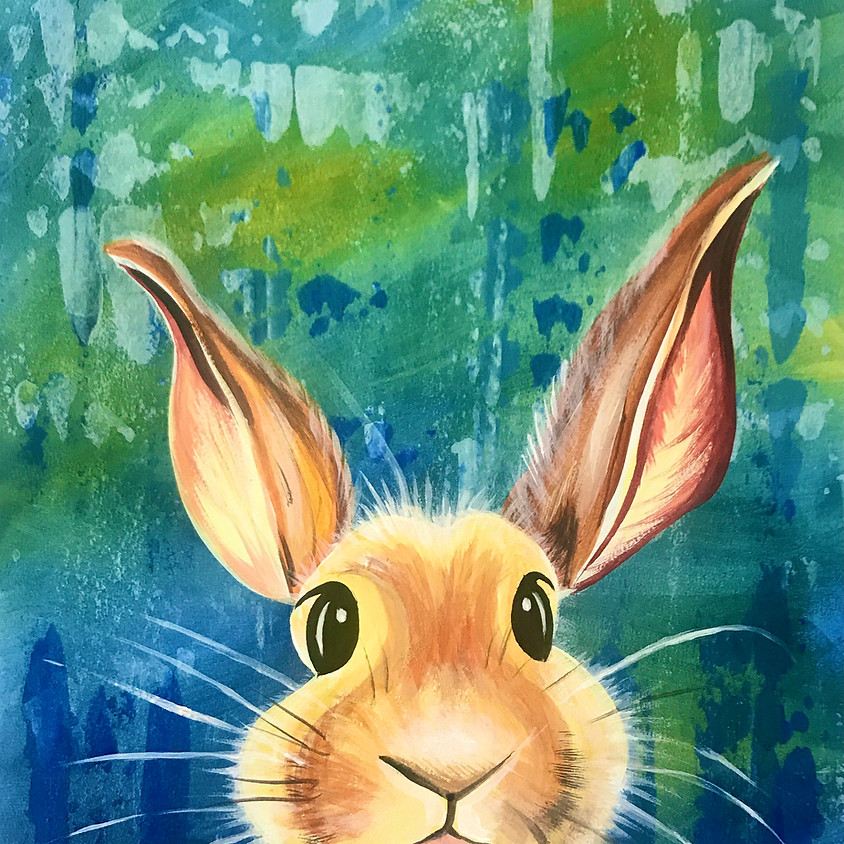 10am ZOOM Paint Along - The Rabbit