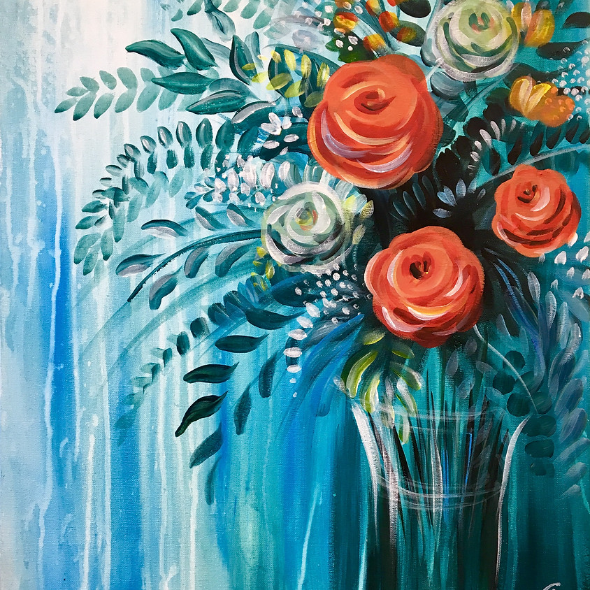 Pre-recorded Paint Along - Roses