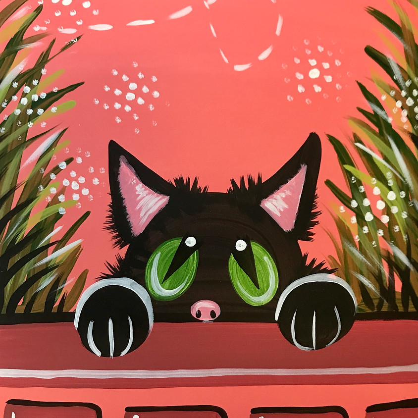 Facebook Paint Along - The Cat