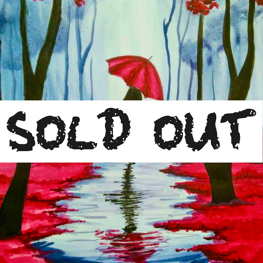 SOLD OUT 10am ZOOM Paint Along - Lady in the rain