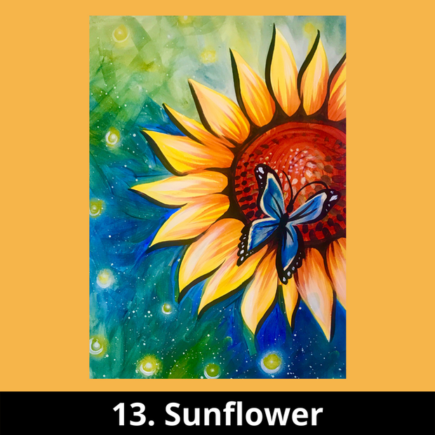 13. Sunflower