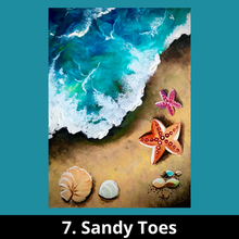 7. Sandy Toes
