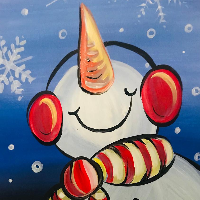 Live Paint Along - The Snowman - Paint Your Own Christmas Cards!