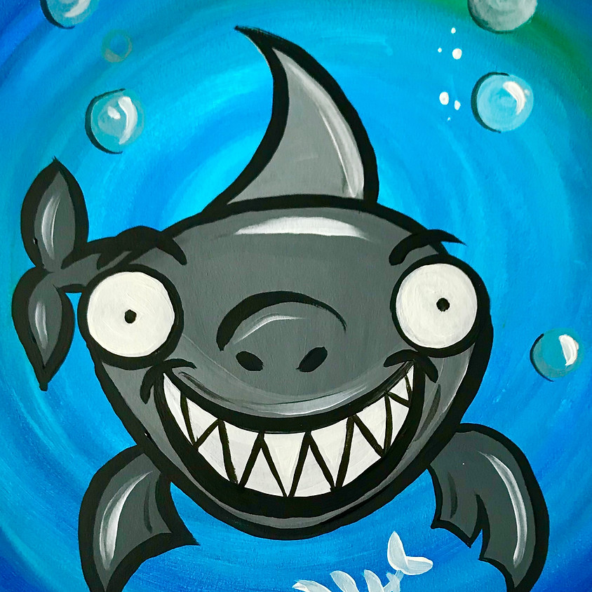 Live Paint Along - Shawn the Shark
