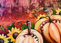 Halloween Gold Pumpkin