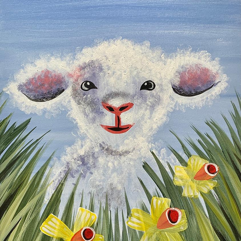 Facebook Paint Along - The Lamb