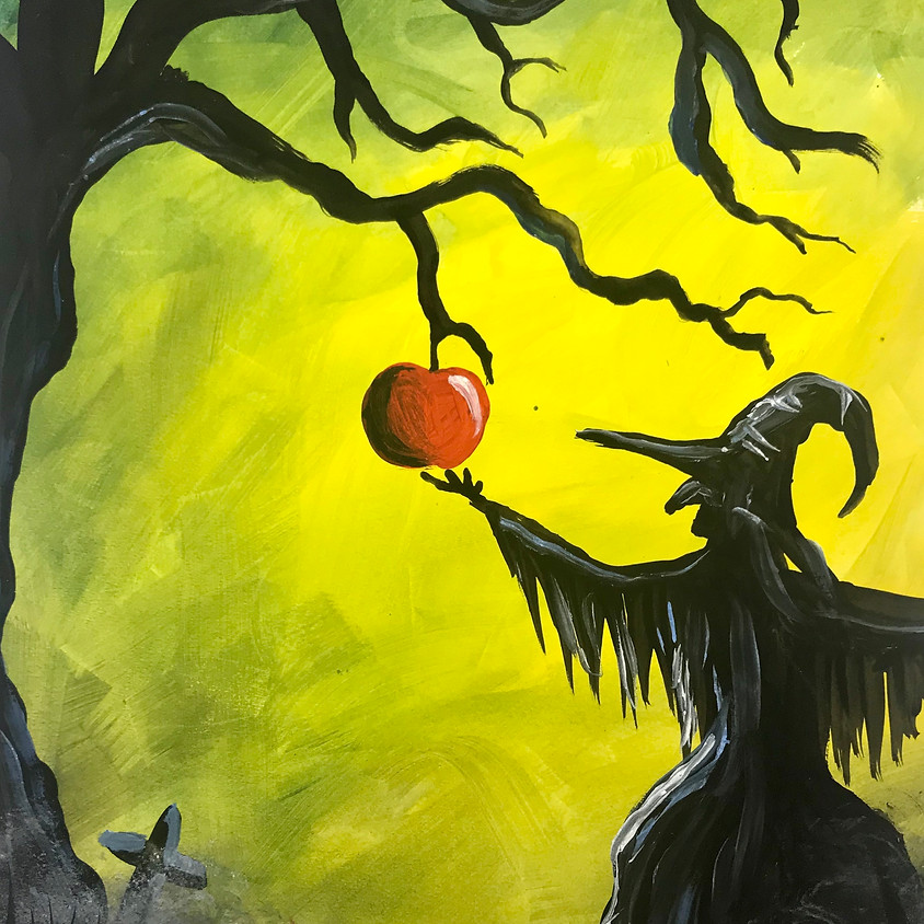 Halloween Live Paint Along - The Witch