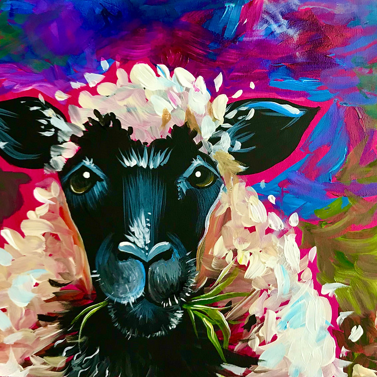 Pre-recorded Paint Along - What Ewe Looking At?!