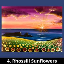 4. Rhossili Sunflowers