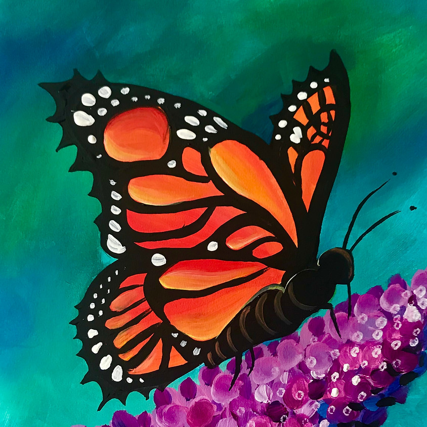 Pre-recorded Paint Along - Butterfly