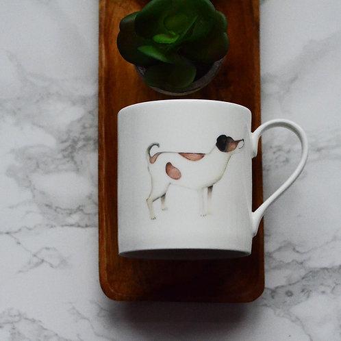 Jack Russell Fine Bone China Mug