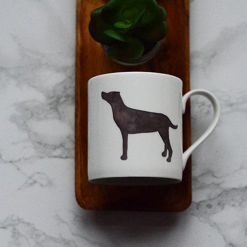 Standing Labrador Fine Bone China Mug
