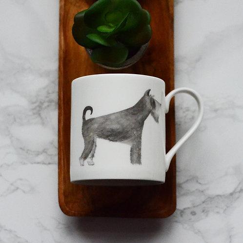 Schnauzer Fine Bone China Mug