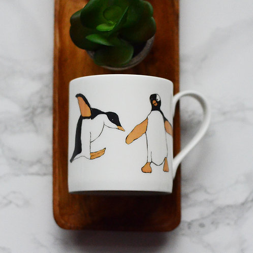 Penguin Fine Bone China Mug