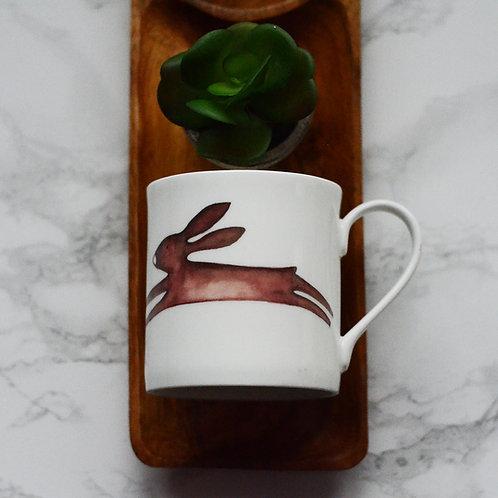 Leaping Hare Fine Bone China Mug
