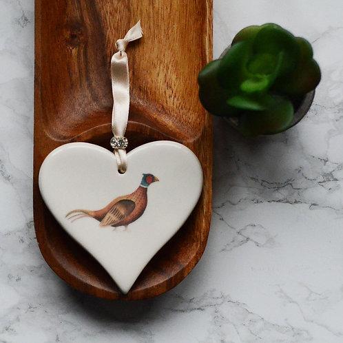 Duck Ceramic Heart