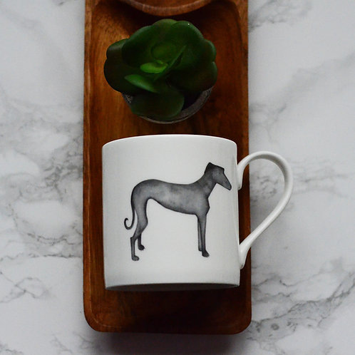 Greyhound Fine Bone China Mug