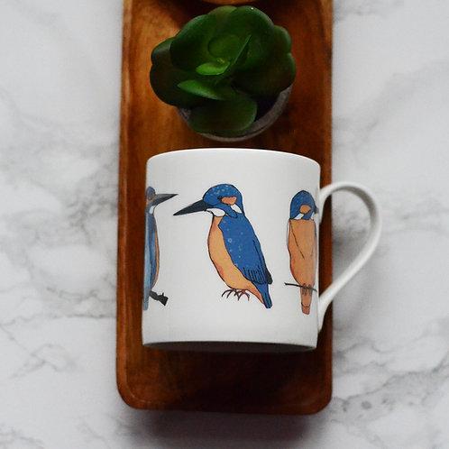Kingfisher Fine Bone China Mug