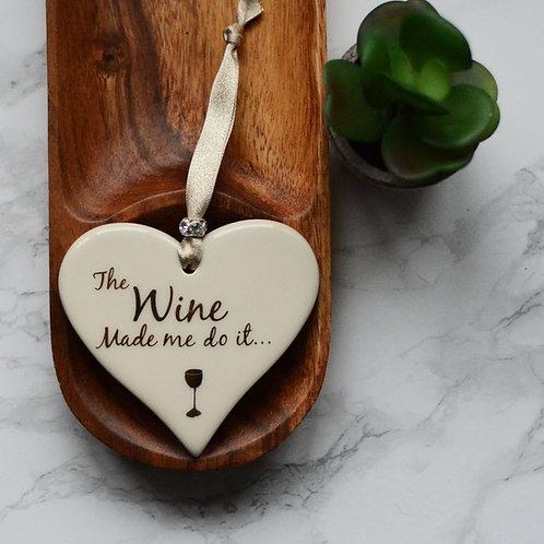 Wine Themed Hearts